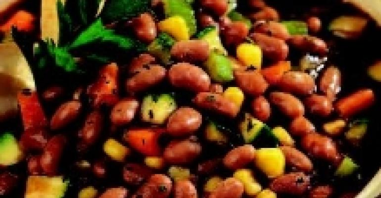 Vegetarian Herbed Bean Chili