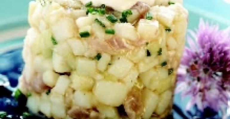 Yarrow Bay Truffle Caper Potato Salad