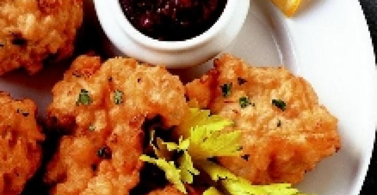 New England Rice and Shrimp Fritters
