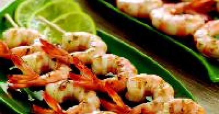 Florida-Style Honey-Grilled Wild American Shrimp