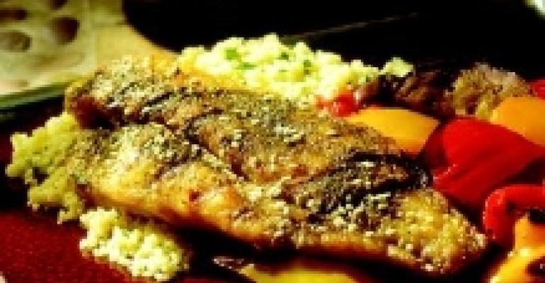 Zahtar-Rubbed Catfish with Escalibada