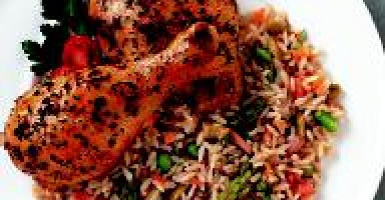 Caribbean Arroz Con Pollo