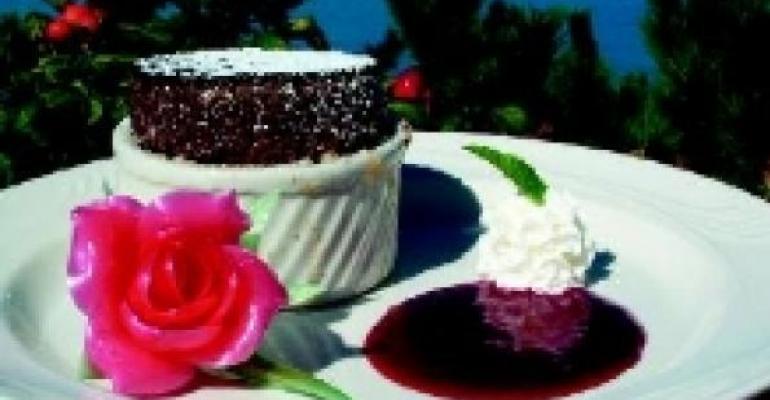 Rose Kennedy's Chocolate Souffle