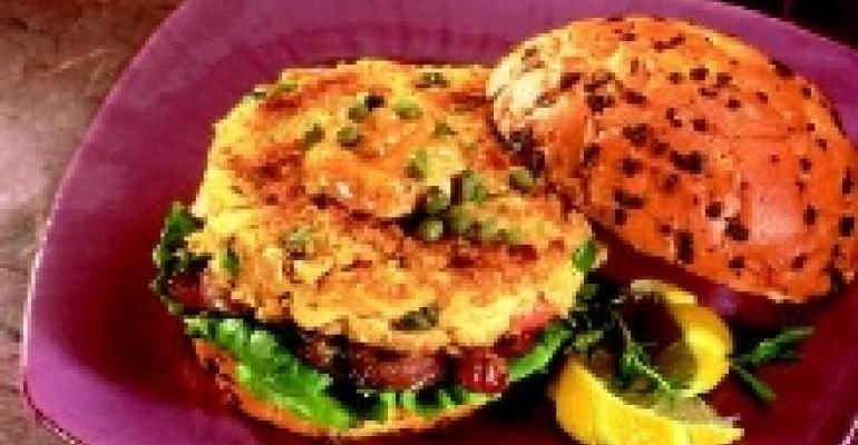 Cajun Tuna Burgers