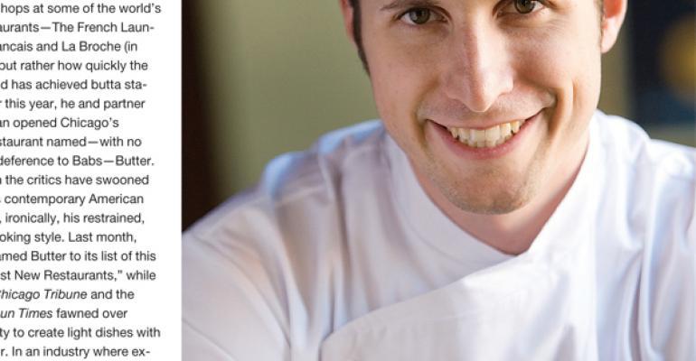 Ryan Poli, Chef, Butter, Chicago, IL