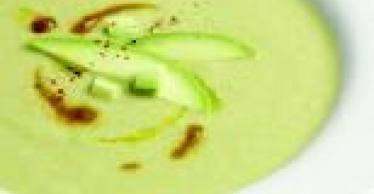California Avocado Corn Chowder