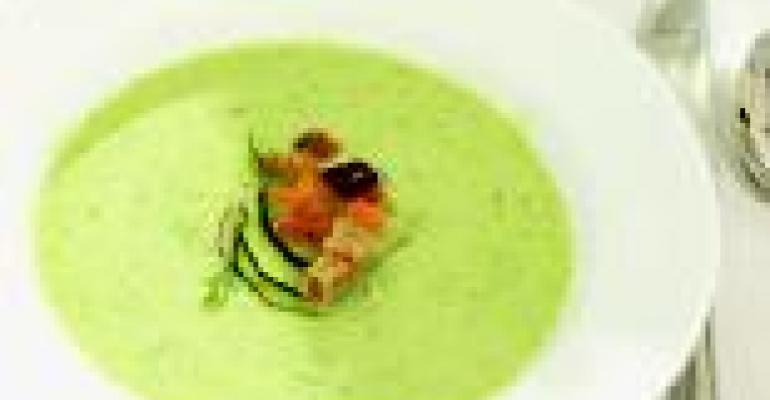 Chilled Cucumber Yogurt Soup