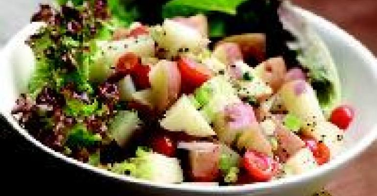 German Potato Salad with Honey-Mustard Vinaigrette