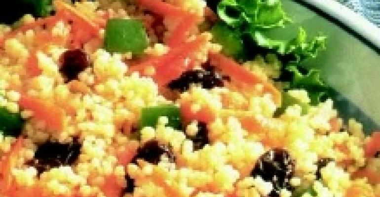California Raisin Couscous with Almonds