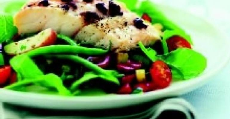 Alaska Cod with Nicoise-Style Salad