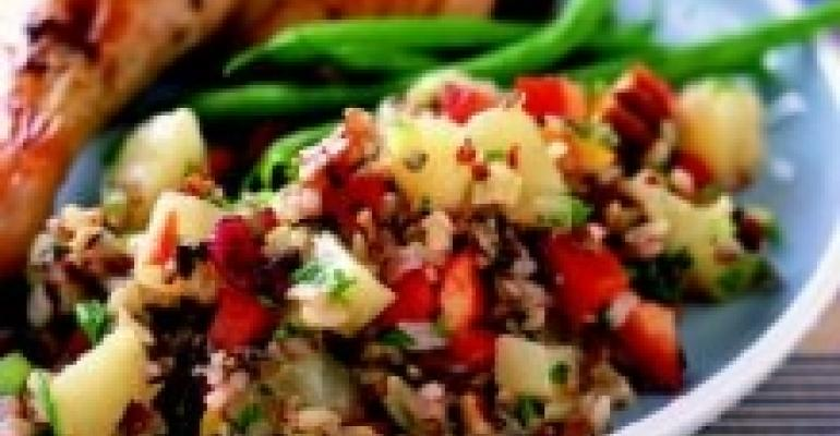 Fruited Nut and Rice Salad