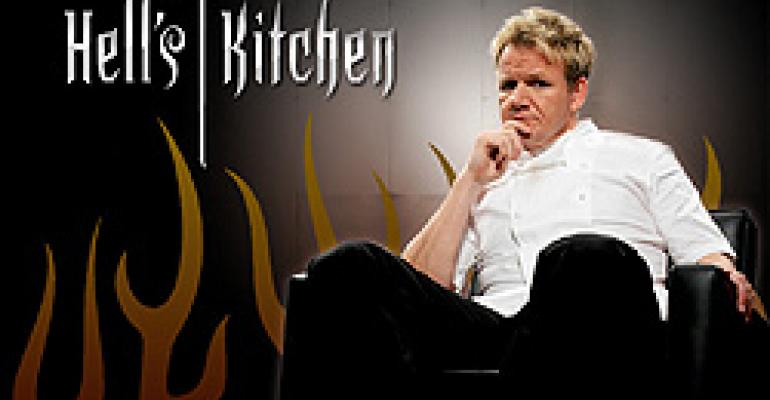 THE REALITY: ONLY THE HOST WINS ON HELL'S KITCHEN.