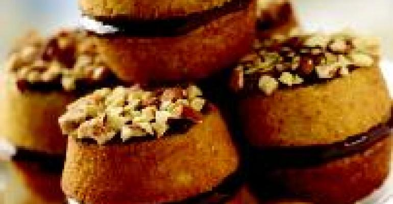 Almond Chocolate Whoopie Pies