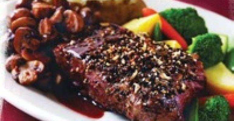 Five Pepper New York Steak