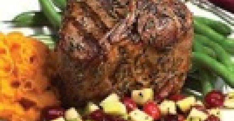 Rosemary Grilled American Lamb Loin Chops