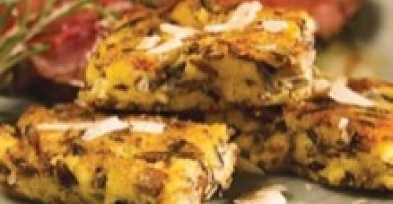 Polenta Rice Cakes