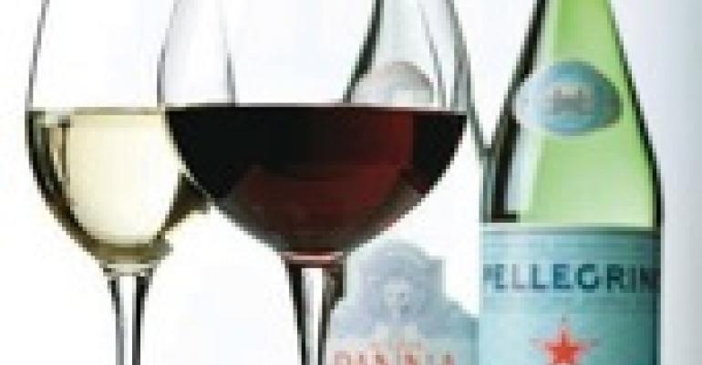 Harmonizing Waters, Wines, Spirits