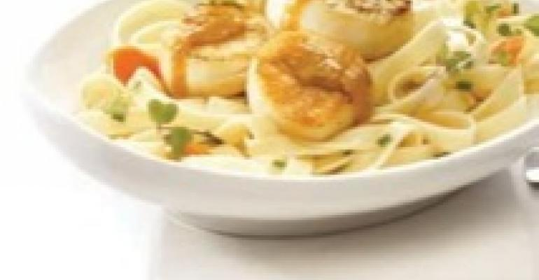 Asian Scallop Noodle Bowl
