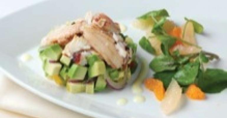 Dungeness Crab Salad with California Avocado