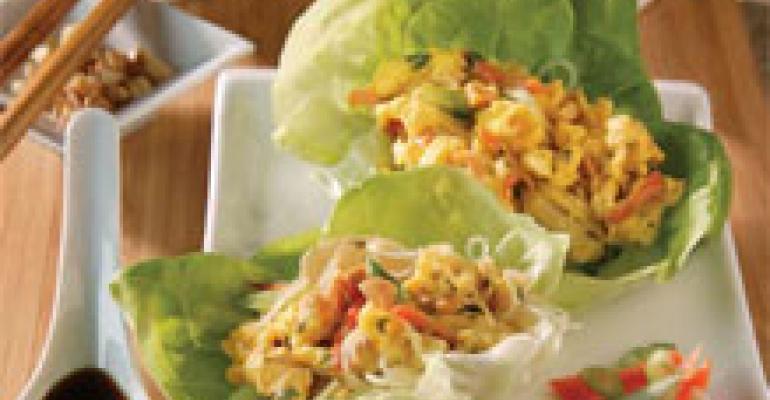 Vietnamese Scramble Wraps