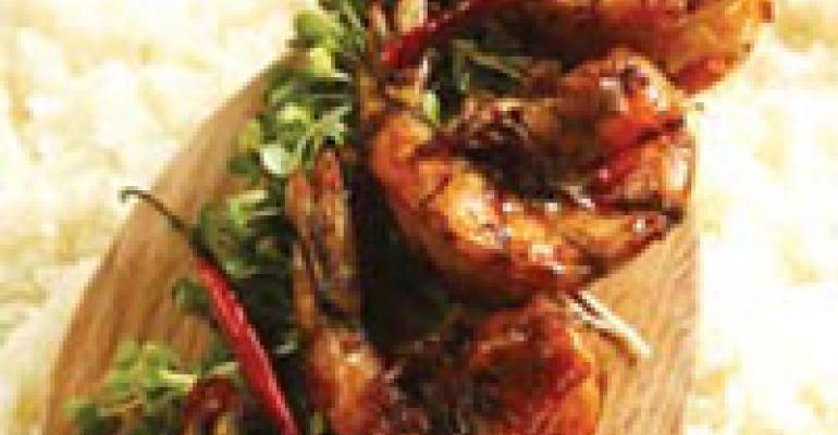 Sticky Shrimp