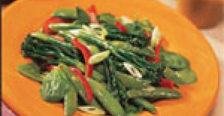 Broccolini and Snap Pea Citrus Salad