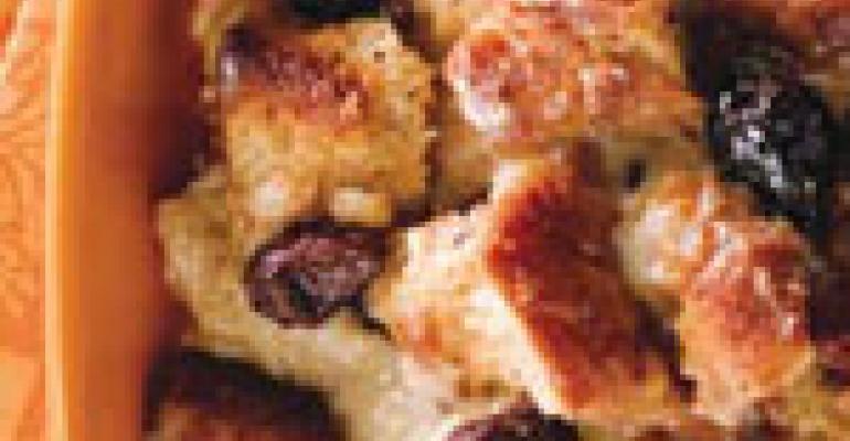 Idaho Potato Bread Pudding