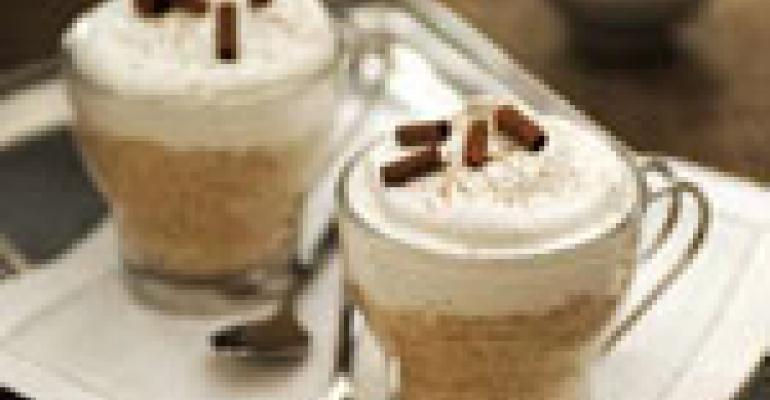 Cappuccino Rice Pudding Cups