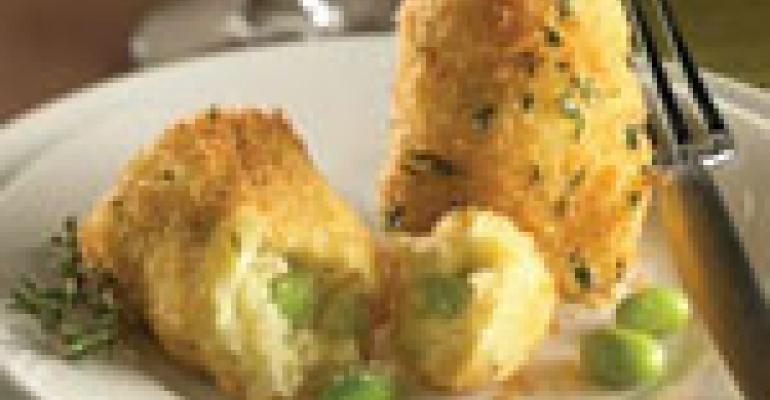 Edamame-Tofu Croquettes