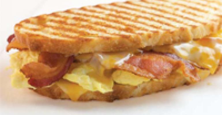 Applewood Bacon Breakfast Panini