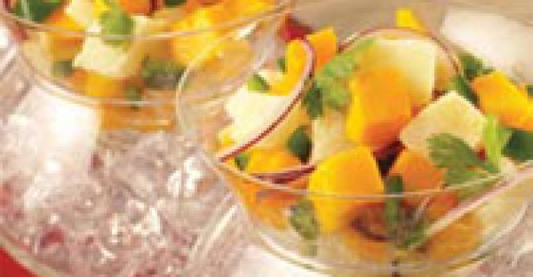 Tilapia Mango Ceviche