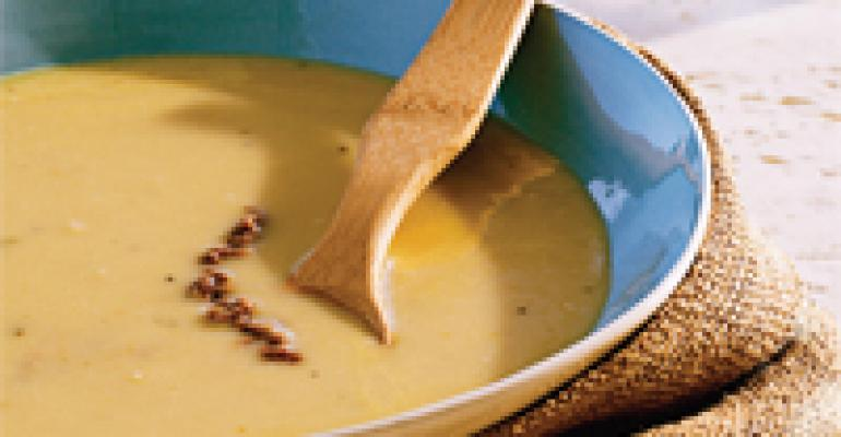 Idaho Potato and White Bean Puree