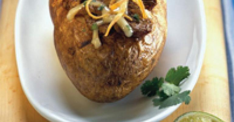 Sizzling Steak Stuffed Idaho Potatoes