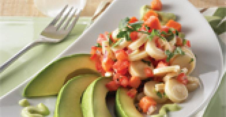 Avocado and Hearts of Palm Salad