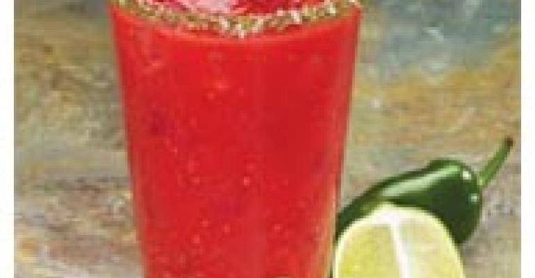 Raspberry Chipotle Margarita