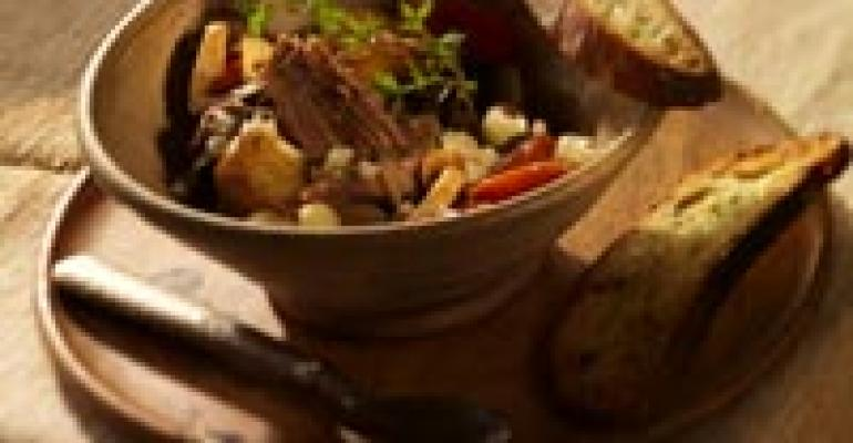 Braised Lamb Stew with Wisconsin Carr Valley Gran Canaria