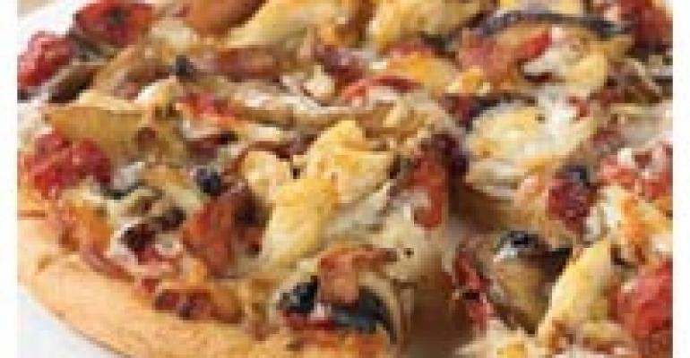 Crab and Wild Mushroom Pizza