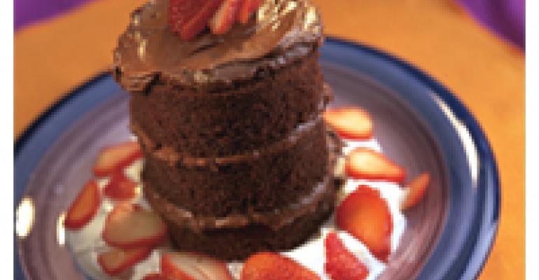 Chocolate Jalapeo Tower Cake