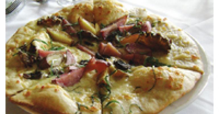 Idaho Fingerling Potato Pizza