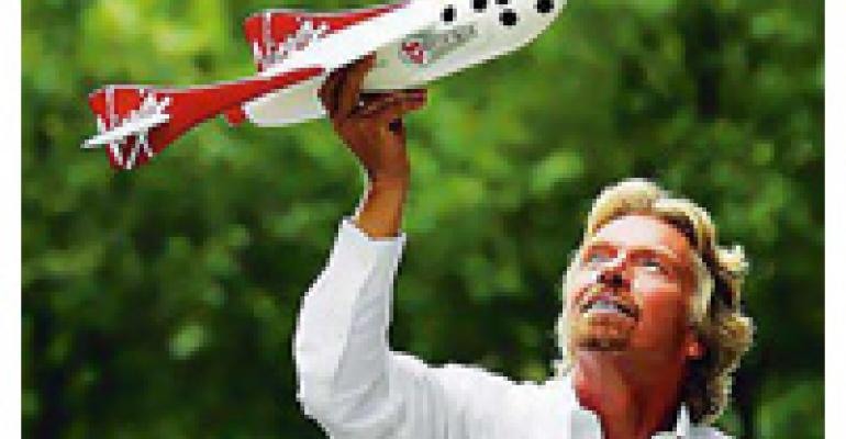 Richard Branson Rockets Into Restaurants