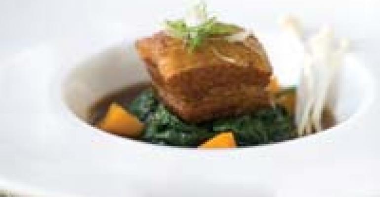 Braised Pork Belly in Dashi