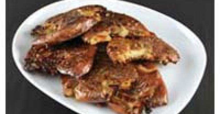 Smashed Garlic Fried Potatoes