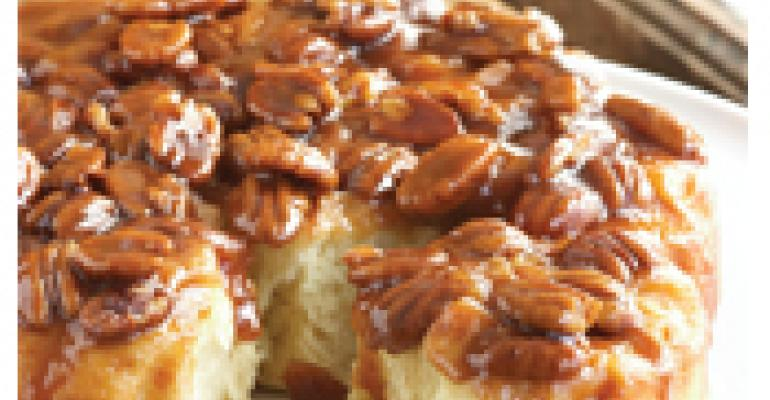 Honey Caramel Sticky Buns