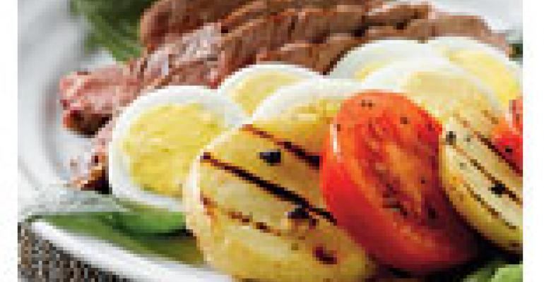 Grilled Steak & Yukon Gold Potato Salad