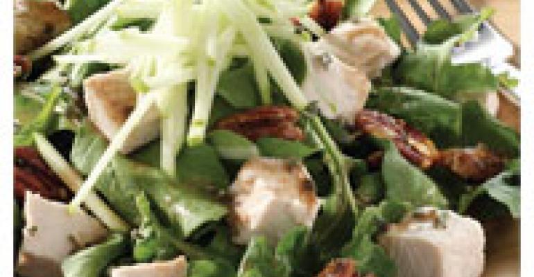 Turkey Apple Pecan Salad