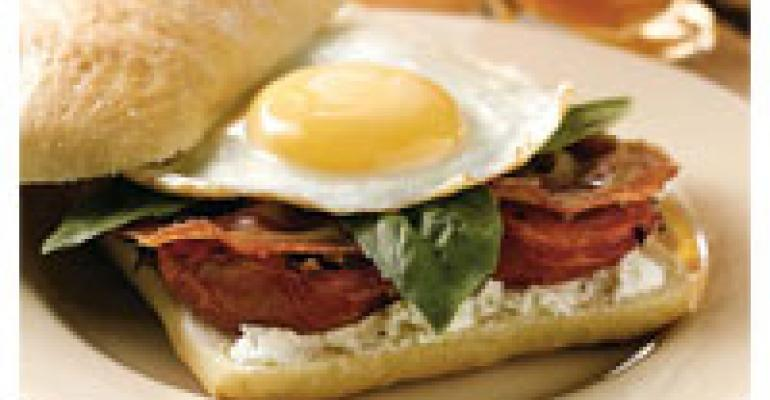 Ciao Ciabatta Breakfast Sandwich
