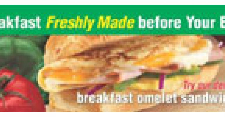 Subway Debuts the Foot-Long Breakfast