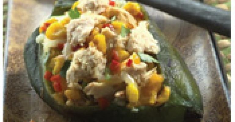 Grilled Pasilla Rellenos