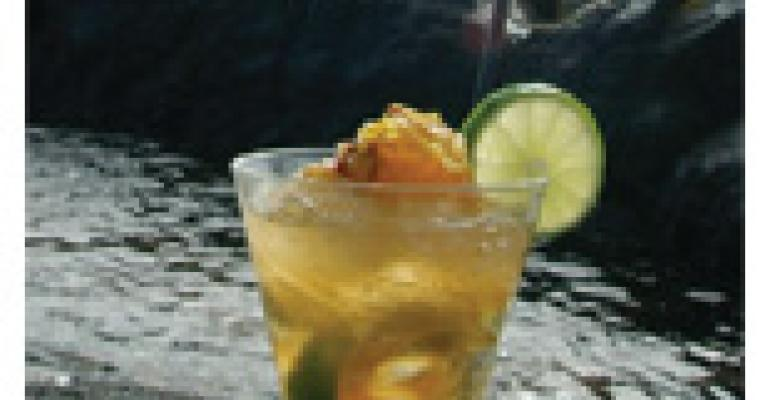 The Killer Bee Caipirinha
