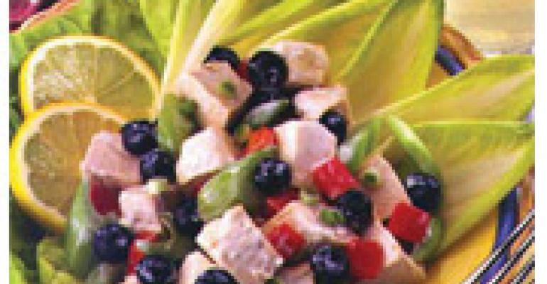 Lemon Blueberry Chicken Salad